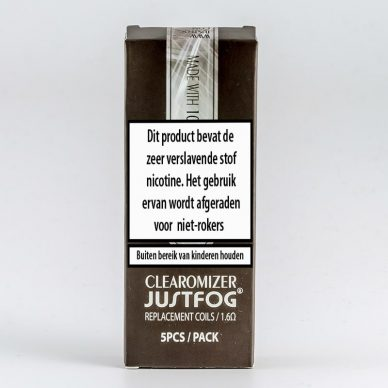Justfog Organic Cotton Coils 14/16 series
