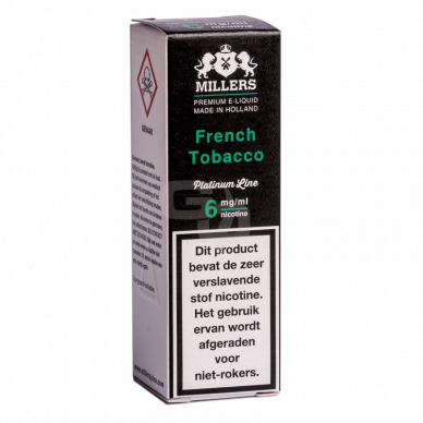 Millers Juice Platinumline French Tobacco