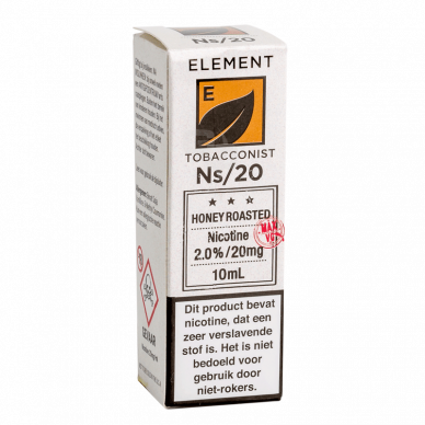 Element Nic Salts Honey Roasted Tobacco NS/20MG