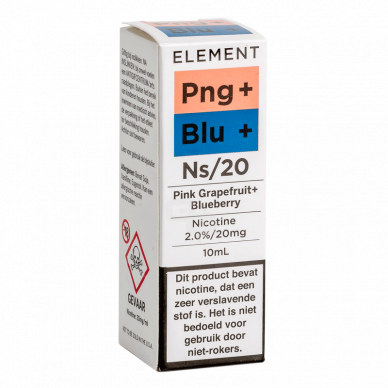 Element Nic Salts Pink Grapefruit Blueberry NS/20MG