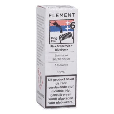 Element Emulsions Pink Grapefruit + Blueberry