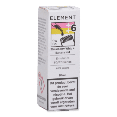 Element Emulsions Strawberry Whip + Banana Nut
