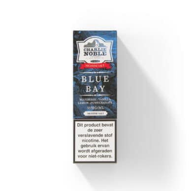 Charlie Noble Blue Bay Nic Salt NS/10 en 20mg
