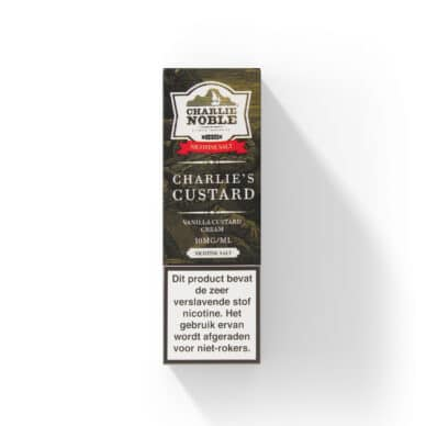 Charlie Noble Charlie's Custard Nic Salt NS/10 en 20mg